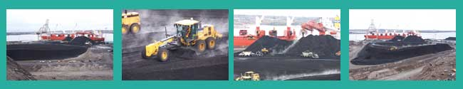 PEV dock unloading coal
